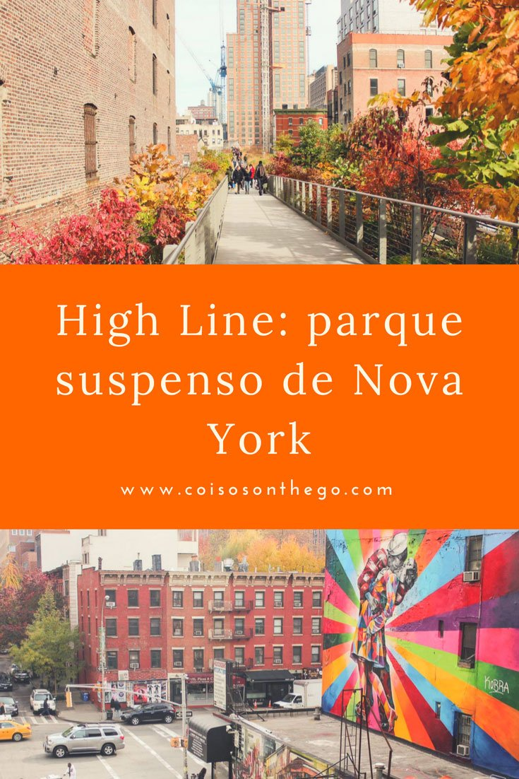 High Line parque suspenso de Nova York - Pinterest