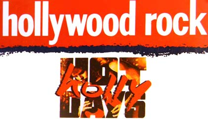 Hollywood Rock 93 - Capa