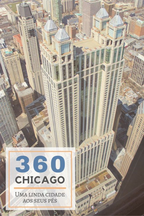 O 900 North Michigan visto do 360 Chicago