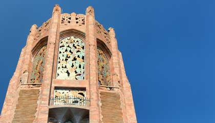 Topo da Singing Tower do Bok Tower Gardens - Capa