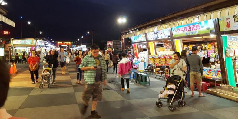 Barracas do Night Market