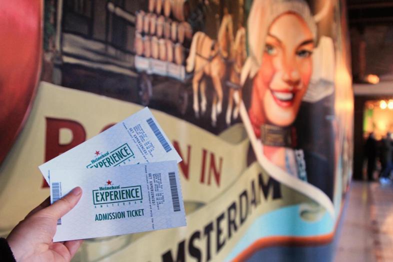 Ingressos para o Heineken Experience em Amsterdam