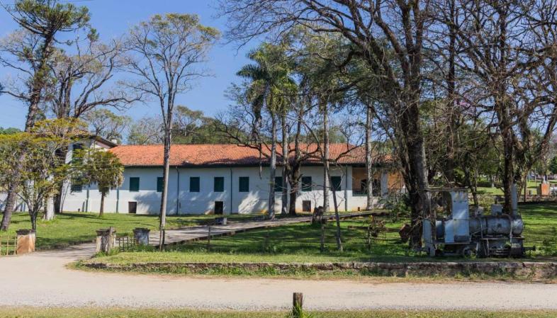 Sede da administração da Real Fábrica de Ferro que hospedou Dom Pedro II em suas visitas à região