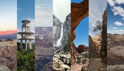 7 parques nacionais americanos