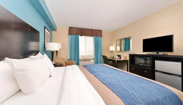 Onde se hospedar na Rota 66-Hotel Comfort Inn Springfield