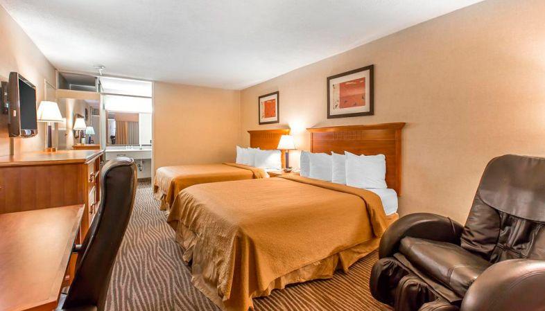 Onde se hospedar na Rota 66-Hotel Quality Inn Barstow