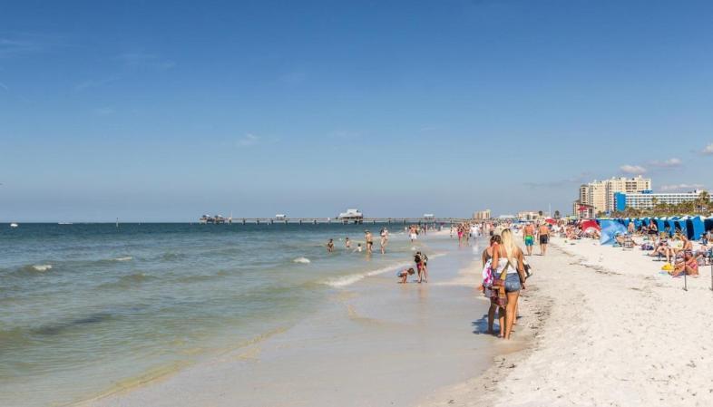 St. Pete - Clearwater Beach - O céu azul 360 dias por ano e a areia branca são alguns dos atrativos das praias da região