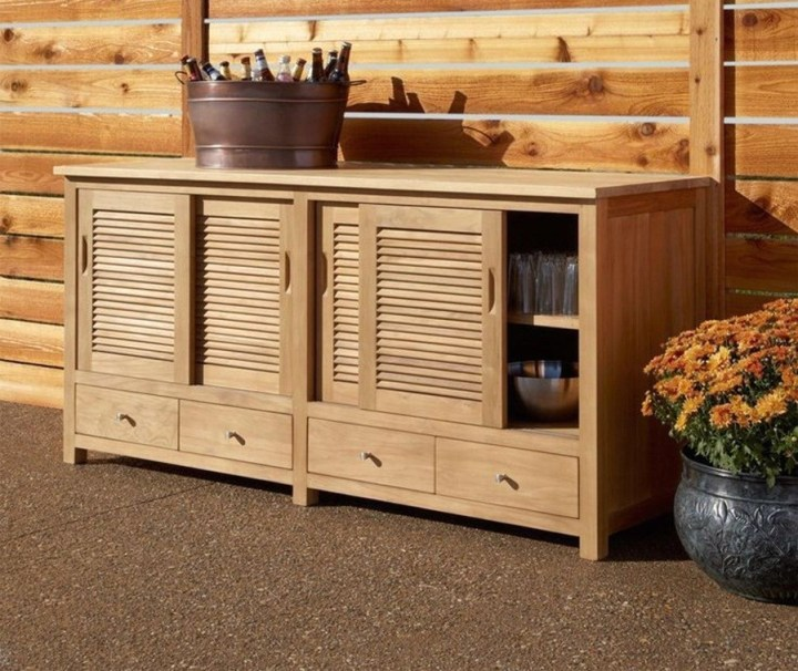 Outdoor Buffet Cabinet
