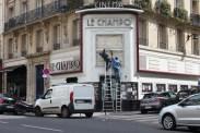 Cinéma Le Champo, rue des Écoles