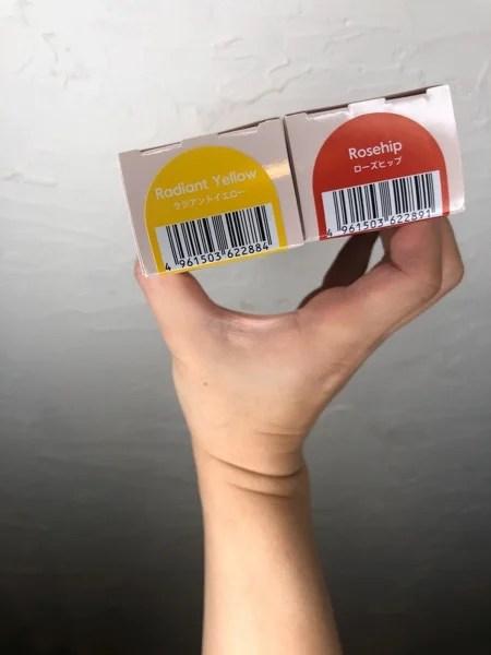 3月発売のtintbar の新色で作る節分カラー