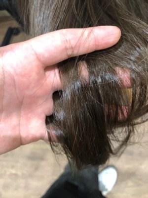 【大阪】手櫛が引っかかるダメージ毛にLuluトリートメントをしたら髪の毛が変わった!