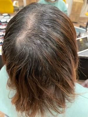 【大阪 今里】ハイトーンの白髪染めにはジュエリーシステムトリートメントがオススメ