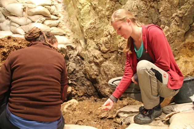 Ausgrabung 2018 Hohle Fels – Schelklingen