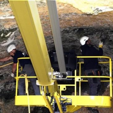 Felsen in Sontheimer Höhle werden gesichert