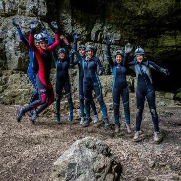 2017-05-20 Jungesellinnenabschied Falkensteiner Höhle