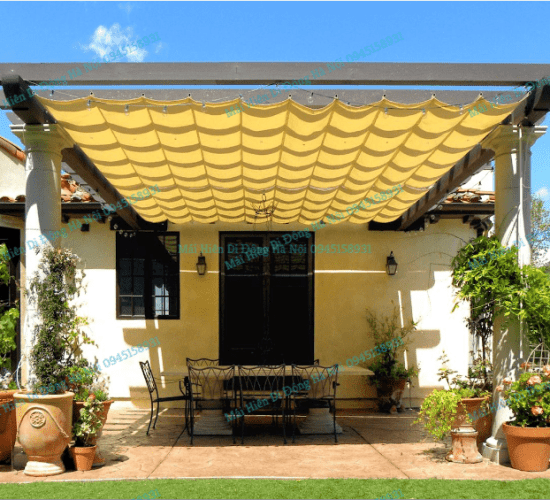 Retractable Awning in Hanoi, Vietnam