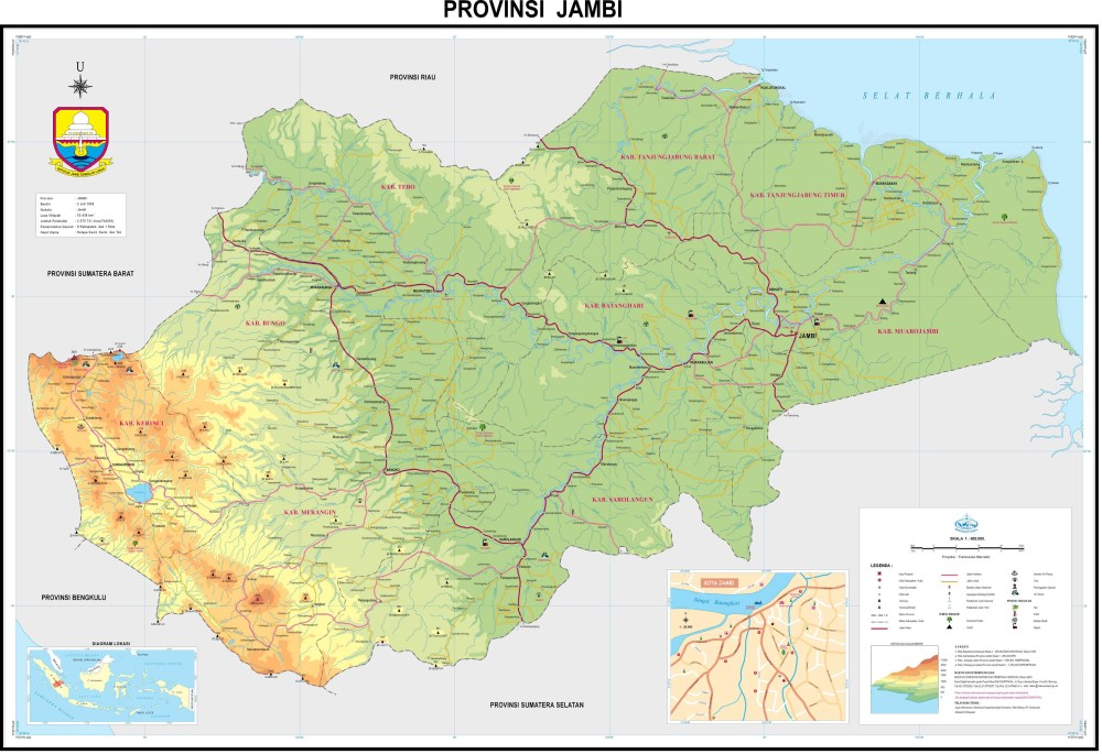 Download: Map of 33 Provinces in Indonesia (5/6)