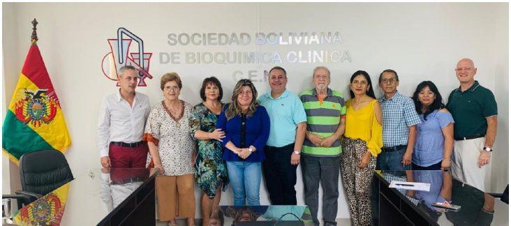 Mesa Ejecutiva COLABIOCLI 2020-2021