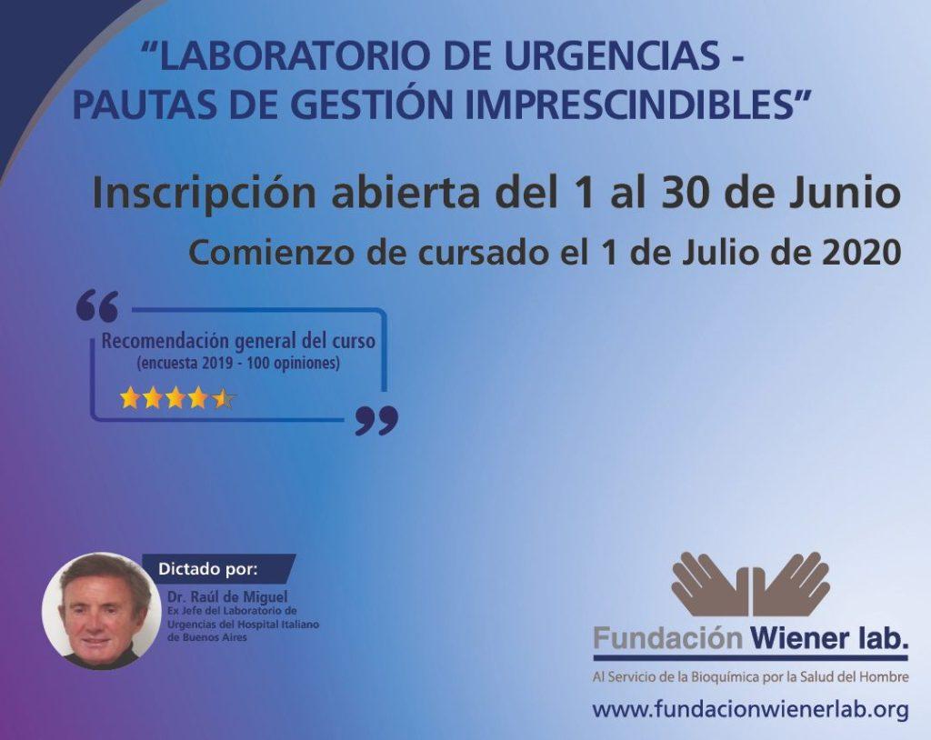 Portada LABORATORIO DE URGENCIAS Pautas de Gestión Imprescindibles
