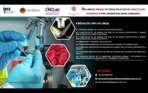 DIPLOMADO VIRTUAL EN TEMAS SELECTIVOS DE HEMATOLOGÍA DIAGNÓSTICA POR LABORATORIO (NIVEL AVANZADO)