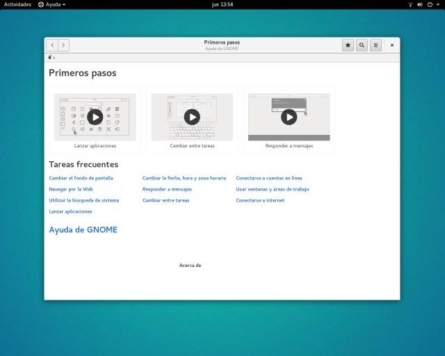 Primeros pasos Ubuntu GNOME