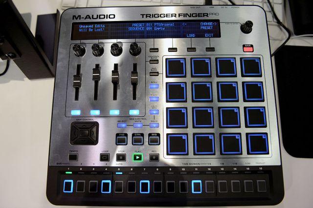 Trigger Finger m-audio