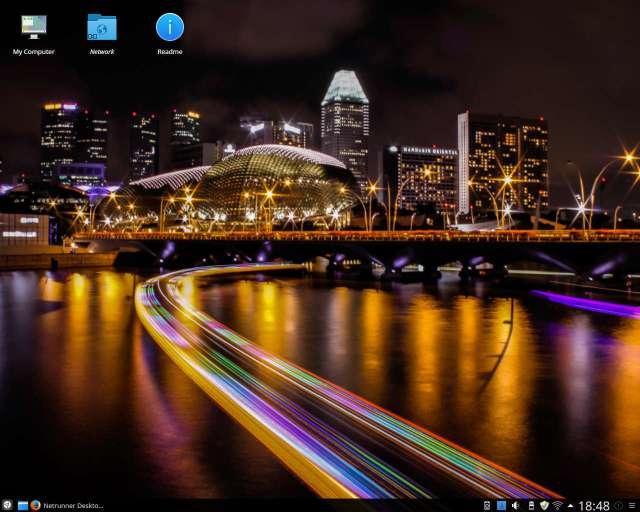 Netrunner KDE