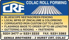 colac roll forming