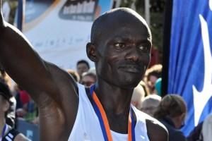 Joel Chepkopol of Kenya won the 2013 Great Ocean Road Marathon.