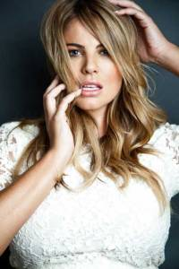 Former Birregurra woman Fiona Falkiner, above and right, is forging an international career as a plus-size model after signing with agencies in London and New York.