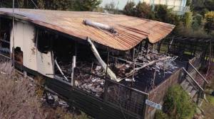 Apollo Bay residents organised support for a family after fire destroyed their home at Marengo this week. The fire engulfed the Ferrier Drive property before firefighters could control the blaze.