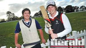 Colac district cricket captains have touted Colac as premiership favourite following the return of Aidan and Jack Spence. The 2014-15 Colac District Cricket Association season starts tomorrow.