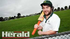 New skipper Zac Hammond is excited to lead a young Colac West team in Division One this season.