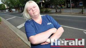 Disability care worker Tina Hill is worried carers have little input in clients' future plans.