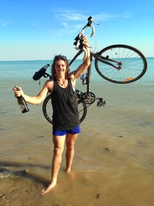 Colac's Daniel Madden raised more than $8000 for an African charity after completing a gruelling bike ride from Adelaide to Darwin.