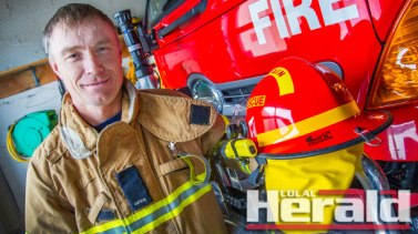 Apollo Bay firefighter Dave Howell said motor vehicle crashes are the most common emergency for the town's fire brigade.