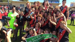 Cobden's under-18.5 footballers ended a 32-year Hampden Football League premiership with a 31-point grand final win against South Warrnambool.