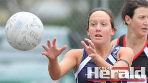Premiership netballer Candi Robbins has returned to her junior club Otways Districts, providing strength in goals.