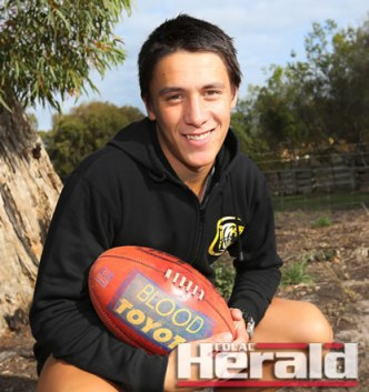 Colac young gun Leigh Gorwell, 17, has his sights set on more senior games after debuting in round one.
