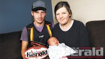 GOOD NEWS: Dutch-born Western Eagles footballer Thijs Helder and his partner Felicity Richardson welcomed baby Levi just days after Helder avoided losing a kidney during a reserves match for the Eagles against Otway Districts.