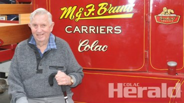 Merv Brunt has more than 30 trucks in his vintage truck museum which opens on weekends.