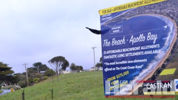 Apollo Bay residents are furious that council officers recommended councillors support a plan for a metropolitan-style housing estate on the Great Ocean Road.