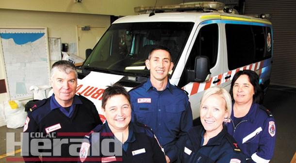 Community thanks paramedics