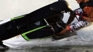 Water police expect to charge a jet ski rider over a collision which injured a 12-year-old boy.