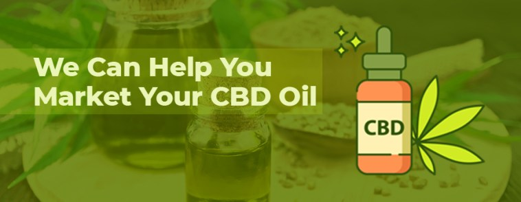 CBD oil with hemp seeds and flour. CBD marketing agency. How to market CBD oil and CBD products online. CBD marketing tips.