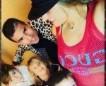 Galilea Montijo se relaja con su familia en Los Ángeles
