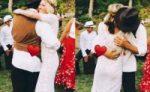 Robin Wright se casó en secreto con Clement Giraudet