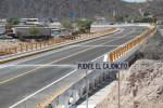 Ponen en operación Puentes El Cajoncito, Santa Rosa y Estabilización de Talud.