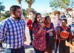 Celebran a madres y niños de la colonia Santa Rosa