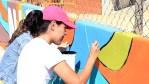 """Concluye proyecto """"Muralízate"""" en la colonia 4 de Marzo en Cabo San Lucas"""